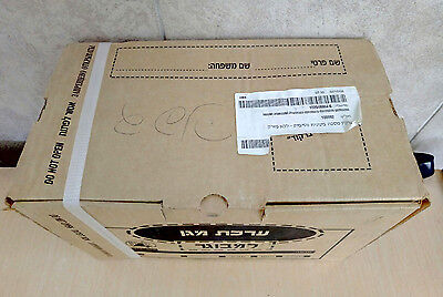 20087 New Gas Mask in Box Sealed  Israeli IDF Civilian Adult,  Filter & D Tube