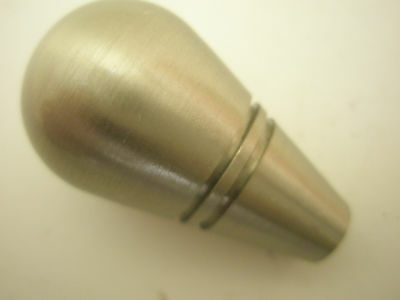 35mm x 22  mm Turned Stainless Steel Knob, Kitchen Cabinet Drawer, clearance