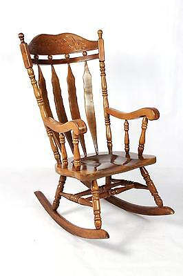 Attractive Antique Style Rocking Chair