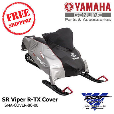 New Oem Yamaha Deluxe Snowmobile Cover Sr Viper R-Tx Sma-Cover-86-00