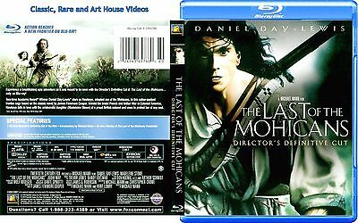 The Last of the Mohicans ~ New Blu-ray ~ Daniel Day-Lewis (1992) TCFHE