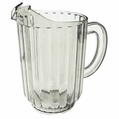 Lot of 8 Update International WP-60SC Clear Water Pitchers 60 Oz.