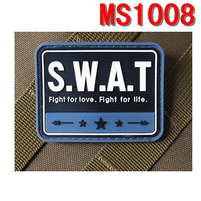 Stock Militaria Special Weapons Blue S.W.A.T PVC Rubber Magic Stick Patch Paste