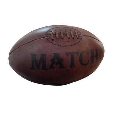 Ram Rugby Vintage Leather Rugby Ball - Perfect Gift or Presentation Ball