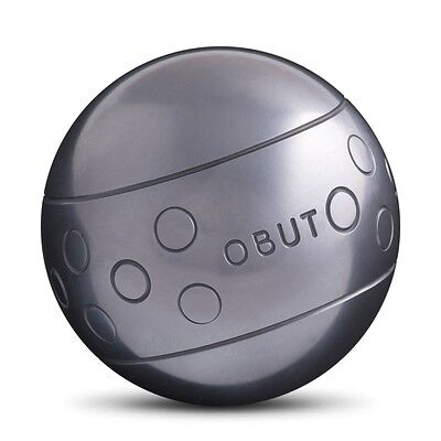 OBUT Tatou Sun Rond PETANQUE CARBON STEEL BOULES METAL BOWLS BOCCE BALL 74mm