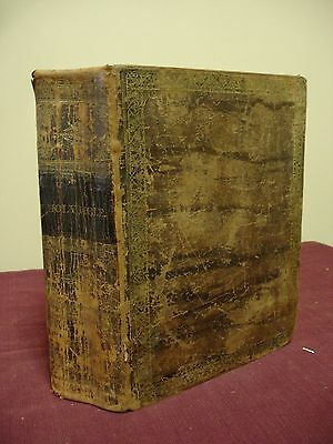 1829 Bible, KJV Apocrypha & Canne's Notes Daniel D. Smith, New York
