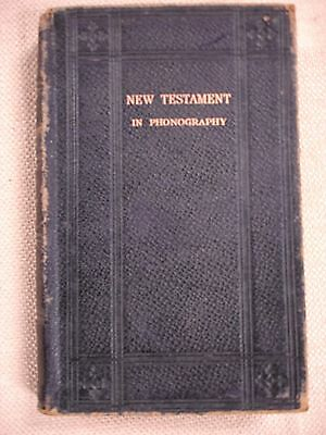 20th Century, New Testament - Pitman's Shorthand XX Cent. Edition - FBHP-14