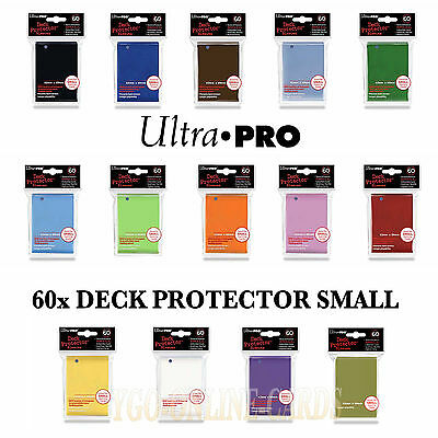 ULTRA PRO - DECK PROTECTOR SMALL - 60 Card Sleeves Kartenhüllen - NEU & OVP