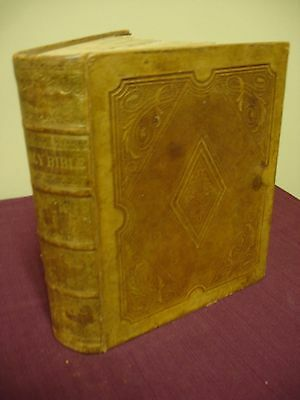 Bible KJV - 1853 with Family History