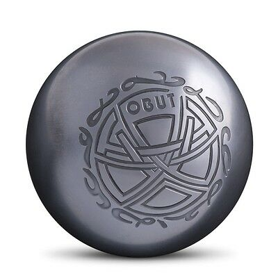 OBUT Tatou Me Tribal PETANQUE CARBON STEEL BOULES METAL BOWLS BOCCE BALL 74mm