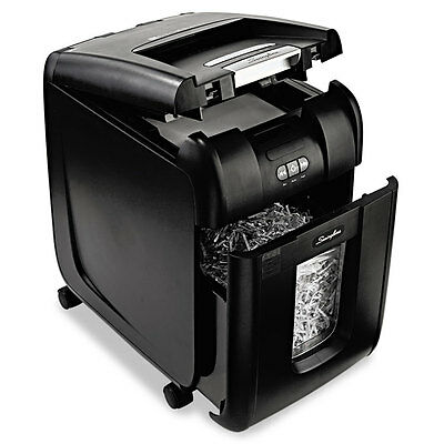 Stack-and-Shred 200XL Auto Feed Shredder Plus Pack, Super Cross-Cut, 200 Sheets