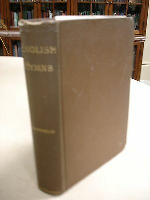 English Hymns: Their Authors and History with Samuel W. Duffield ALS