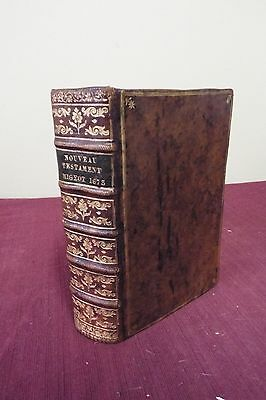 French New Testament Bible - 1673