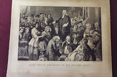 John Wesley - Currier & Ives Print - Circa 1800s