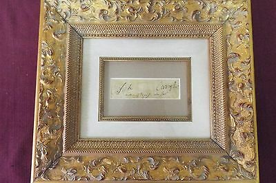 Joseph Caryl - Framed - Cut Signature