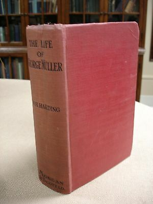Life of George Muller signed by William Henry Harding - 1914