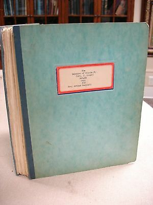 Personal Memoirs of Minnie Flory-Bright - Typed Manuscript - 1950