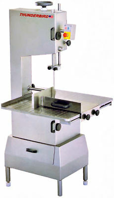 New Thunderbird Stainless Steel 2 HP Meat Saw Bone Saw Band Saw TMS-3600