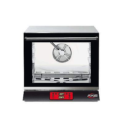 NEW Axis AX-513RHD Electric Convection Oven - 1/2 Size Pan - 3 Trays / Shelves