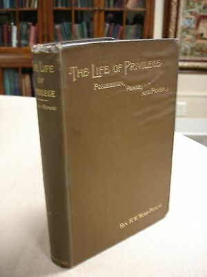 The Life and Privilege written and signed by H.W. Webb-Peploe