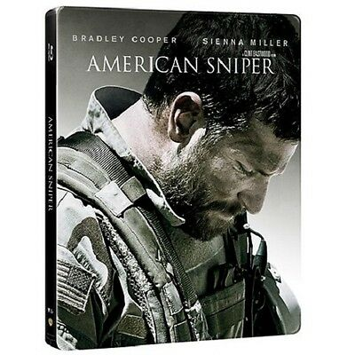 American Sniper (4000 ONLY HMV Exclusive Limited Edition Blu-ray Steelbook) [UK]