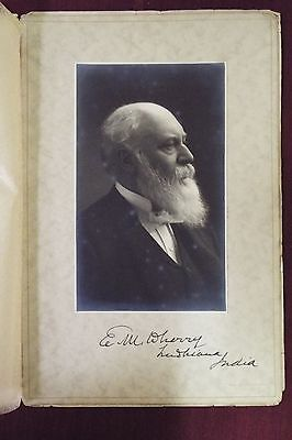 William Buchanan Wherry (related) Signed Photo - 1900 (Circa)