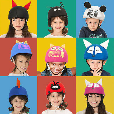 Cool kid size helmet covers - ideal for technically any junior sport helmets