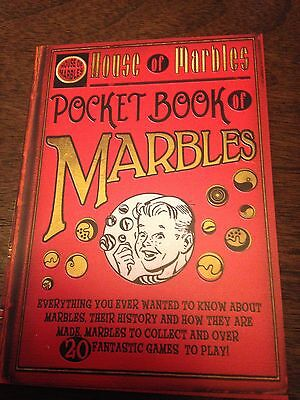 HOM House of marbles book Pocket book of marbles  history playing collecting New