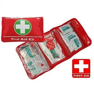 37Pc First Aid Kit Emergency Safety Travel Home Office Bike Car Work Sports New