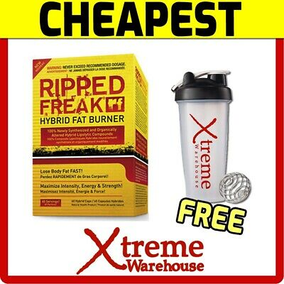 Pharmafreak Ripped Freak Hybrid Fat Burner 60 Caps // Weight Loss Pharma