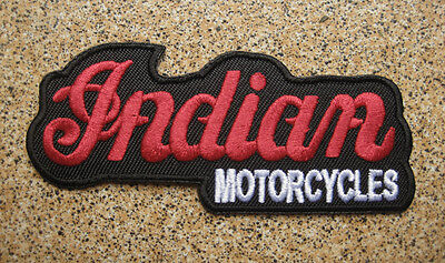NEW INDIAN AUTO PATCH embroidered Badge A