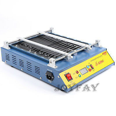 T-8280 Infrared IR PCB Preheater Preheating Oven 1600 W 280 x 270 mm