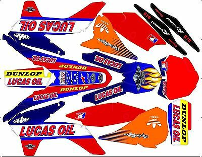 Kit Déco Moto pour / Mx Decal Kit For Ktm Sx / Sx-f - Lucas Oil
