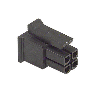 HOUSING CONNECTOR MICRO FIT MALE 2x2 WAY MOLEX 43025-0400 PRICE FOR 1 PCS