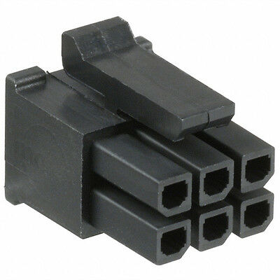 HOUSING CONNECTOR MICRO FIT MALE 3x2 WAY MOLEX 43025-0600 PRICE FOR 1 PCS