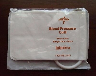 Medline Disposable Blood Pressure Cuff, Single Patient, Sm Adult #MDS9722HP NEW