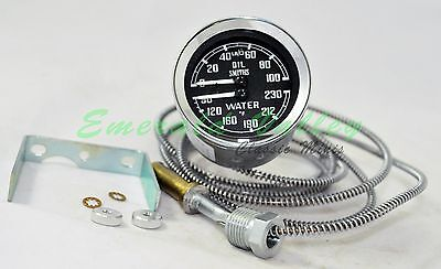 Classic Mini New Smiths Dual Gauge Oil Pressure and Water Temp