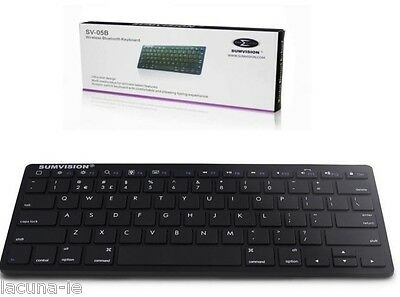 Sumvision Wireless Mini Bluetooth Keyboard great for Tablets & Smart TV's