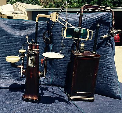 1920's Antique Ritter Dental X-Ray Unit & Ritter Unit Equipment Complete Rare