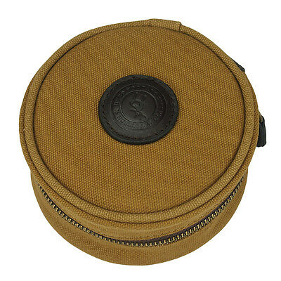 Tourbon Reel Storage Case Fly Fishing Spin Pouches Bag Cover Canvas Vintage Fish