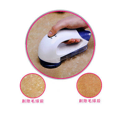 Portable Electric Clothes Pill Fluff Remover Fabrics Sweater Lint Fuzz Shaver