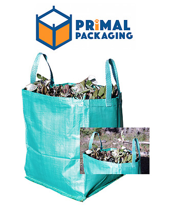 Garden Waste Bag with Carry Handles -Heavy Duty - Reusable - 90L CAPACITY
