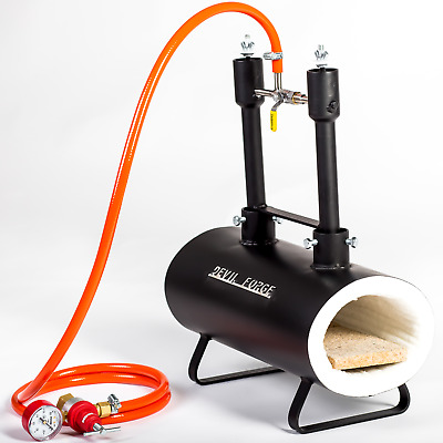 DFSW2 Gas Propane Forge for Knifemaking Farriers Blacksmiths Furnace Burner