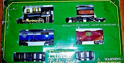 Battery Operated  Express Train Set by Pioneer