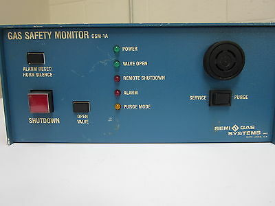 SEMI GAS SYSTEMS GSM-1A Gas Safety Monitor