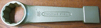 UNUSED NOS Stahlwille Stabil 8 85mm Slogging Striking Face Ring Spanner Wrench