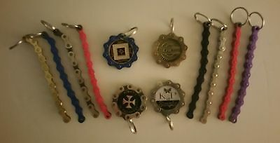 Narcotics anonymous & AA  Medallion Key chain holders EXTRA ONE FREE WITH ORDER