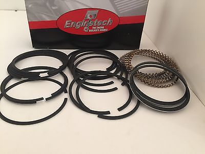Hastings Moly Piston Rings Set Chevy SBC 327 350 383 5//64 5//64 3//16 .030/""