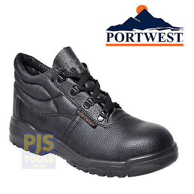 Portwest Steelite FW10 steel toecap chukka safety boots shoes S1P work boots