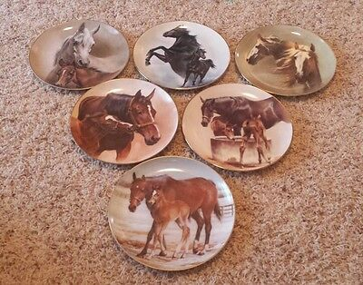 Fred Stone Collector Equine Plates